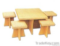 Wicker Tables&Benches