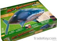 2011 newly Christmas present:air swimmers shark and clownfish online