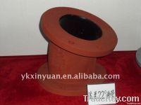 ductile casting iron double flange/socket elbow