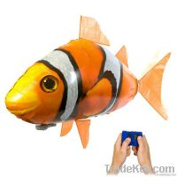 2011 new novel and original RC air swimmers flying fish, free shipping