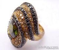 Silver Wax-set Ring