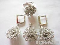 Silver Wax setting Jewelry