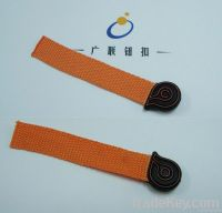 OEKO metal/PU/PVC clothing bag zipper puller
