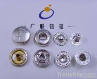 OEKO metal brass snap fastener button