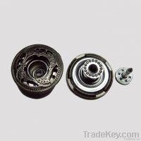 OEKO metal brass jeans fastener button