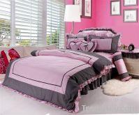 2011 romantic pink korea duvet cover/bed sheet