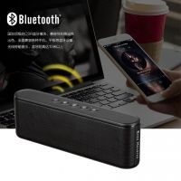 Portable home-use wireless bluetooth speaker with TF USB  AUX  10W