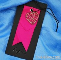 fashion clothing paper hang tag