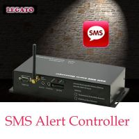 SMS Alert Controller data logger humidity sensor