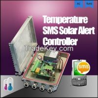 temperature controller sending sms