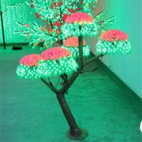 Long lasting led cherry flower tree light