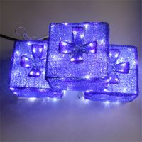 Top quality led 3d light christmas snowman ornaments outdoor led light for home