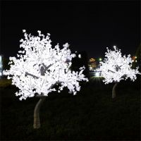 outdoor decoration christmas led tree