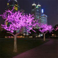 Long lasting led cherry flower tree light