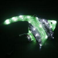 Motif light led 3D santa claus sculpture light christmas decorations