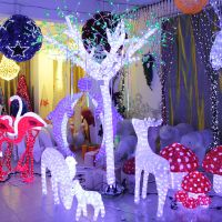 Best prices latest different types Led decor tree light