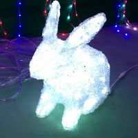 Newest factory sale different types rabbit led night light