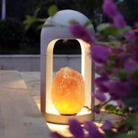 Himalayan Lined Square Crystal Salt Lamps Special Design Salt Lamps