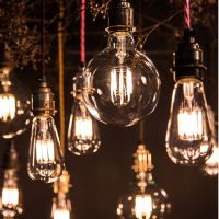 solar micro invisible led copper wire garland string lights