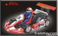 1:24 Micro RC High Speed Racing Kart Car