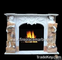 Statue Carved Fireplace-02