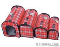 Red Grid Recticle multifunctional cat&dog bags