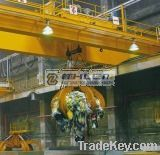 EOT Hydraulic Bucket Double Girder Overhead Gantry Crane with Grab