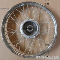 Aluminum alloy motorcycle stainless steel wheel rim