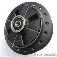Aluminum alloy motorcycle rear wheel hub