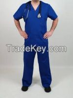 MEDICAL APRON AND MEDICAL SCRUB.