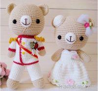 Wedding Knitting Dolls
