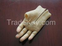 silicon glove with zipper