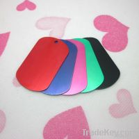 Anodized Dog Tag Different Colors Available