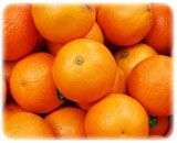Fresh Oranges (Citrus Fruits Kinnow)
