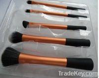 quality aluminum handle vegan synthetic makeup brush