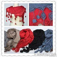 Fashion plain scarf GM09419