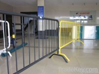 Portable fence, pedestrian barrier, pool fence