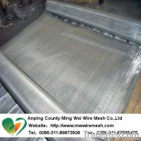 SS202/304/316 stainless steel wire mesh, 100 mesh Ultra-thin stainless