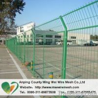curvy welded fence from anping factory