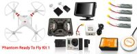 DJI Aerial Filming Ready to Fly Solution Kit 1 / Unmanned Aerial Vehicle UAV Drone Remote Camera Flying Aircraft