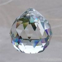 Glass ball pendant