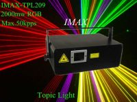 Hot sale!! IMAX 2W RGB laser light, animation effect stage laser light