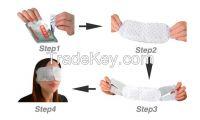 healthcare Relieve eye fatigue Hot steam eye mask eye patch good for sleep