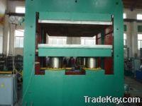 Frame type rubber plate vulcanizing machine