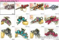 Ladies fashion hair jewelry, hair clamp hair accessories in wholesale
