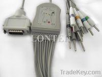 Fukuda Denshi 10 leads ECG cable