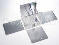Realan mini ITX aluminum computer case