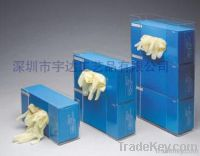 acrylic glove box dispenser