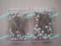 Pearl Round Head Pins