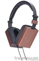high class multimedia metallic stereo headphone H08014